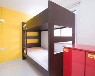 1 Bed in Mixed-Gender Shared 2 Beds Dormitory